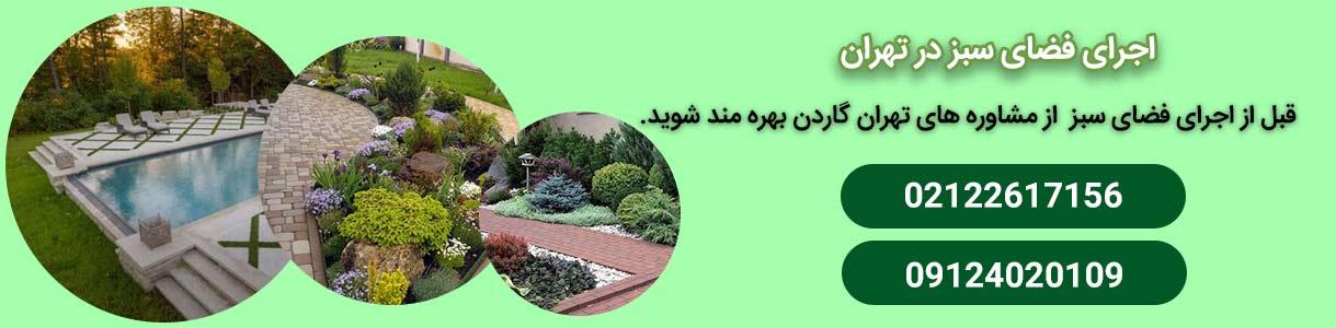 فضای سبز در تهران