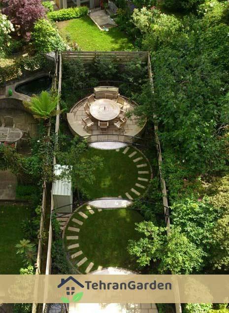 اشکال طراحی فضای سبز