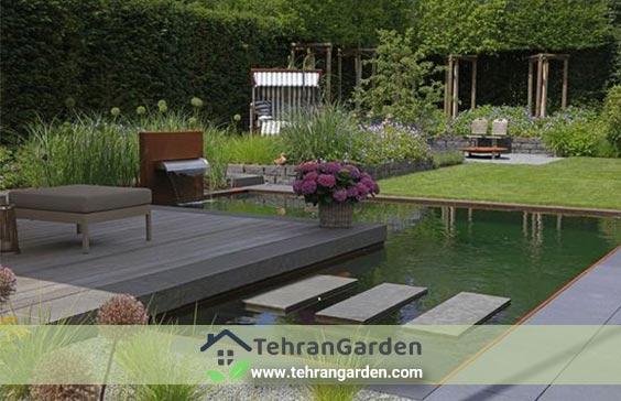 طراحی فضای سبز مدرن