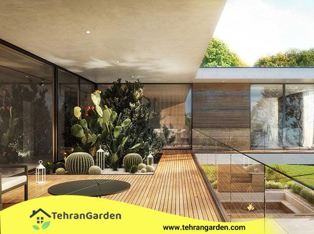طراحی گیاهان ویلا