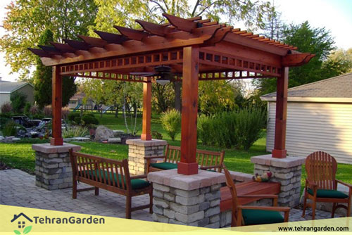 آلاچیق باغ سنتی
