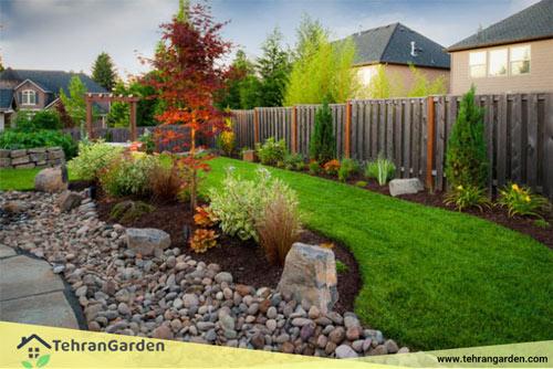 چیدمان باغ سنتی