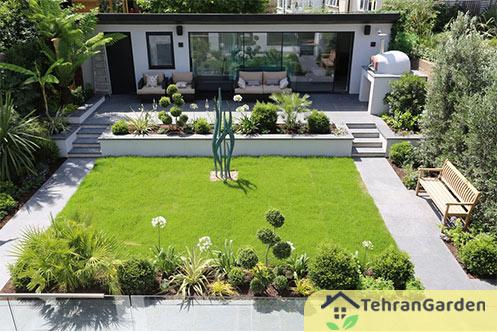 طراحی فضای سبز باغچه
