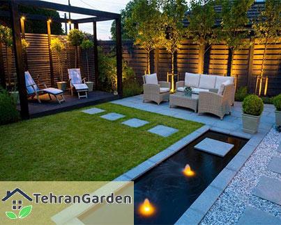 فضای باغ