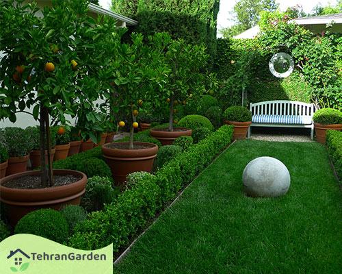 دکور باغ میوه