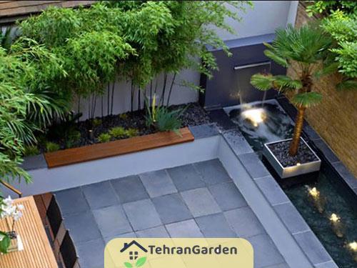 طراحی باغچه مدرن