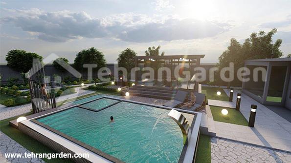 Villa landspace design