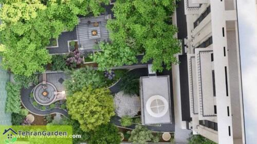 طراحی پروژه برج باغ گلبرگ (درکه) : ( کارفرما : جناب حاج محمد )