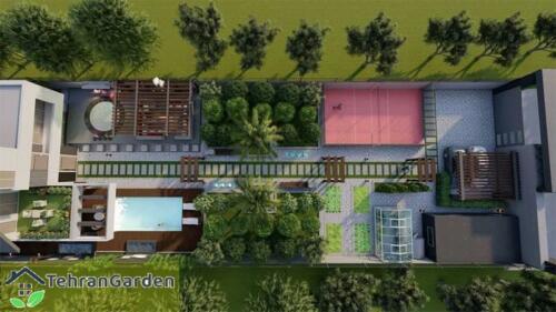 طراحی پروژه ماهدشت ( کارفرما : جناب ایمانی )