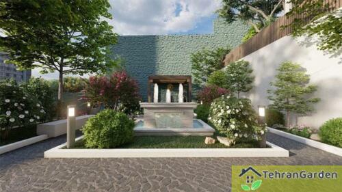 طراحی پروژه برج باغ ولنجک ( کارفرما : جناب حاج محمد)